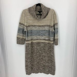 Willi Smith Cowl Neck Sweater Dress XL